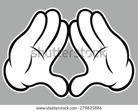 Diamond Hands - stock vector