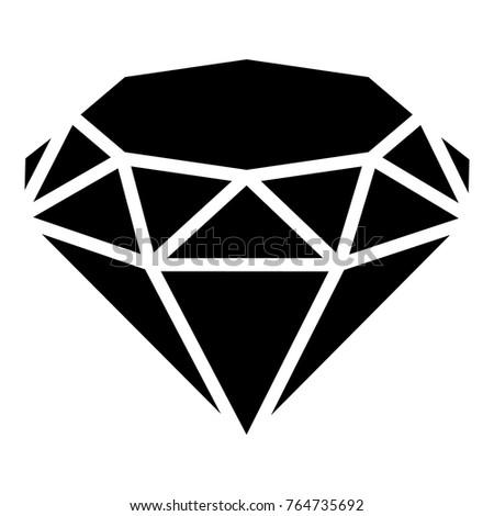 diamond icon simple illustration diamond vector stock vector 2018 rh shutterstock com diamond vector font generator diamond vector font generator