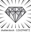 diamond shine - stock vector