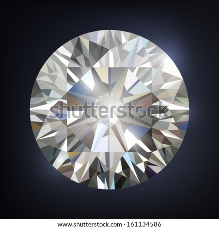 Diamond. Vector