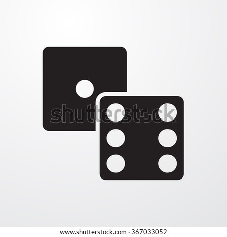 Dice icon, Dice icon eps10, Dice icon vector, Dice icon eps, Dice icon jpg, Dice icon picture, Dice icon flat, Dice icon app, Dice icon web, Dice icon art, Dice icon, Dice icon object, Dice icon flat - stock vector