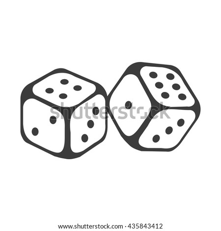 Dice icon. Dice icon Vector. Dice icon Art. Dice icon eps. Dice icon Image. Dice icon logo. Dice icon Sign. Dice icon Flat. Dice icon app. Dice icon UI. Dice  icon web. Dice  icon JPG.  - stock vector