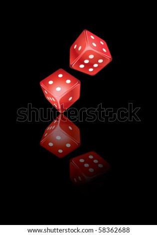 Dices - stock vector