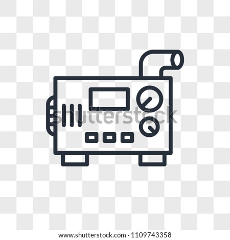 Diesel generator vector icon isolated on stock vector 1109743358 diesel generator vector icon isolated on transparent background diesel generator logo concept voltagebd Image collections