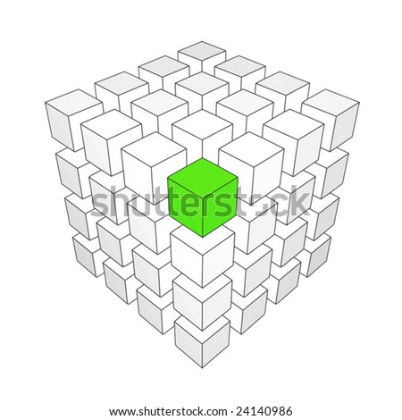 Different element. For other similar images from the series, please, check my portfolio. - stock vector