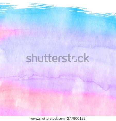 Different magenta tones watercolor background for business commercial or scrapbooking. Vector. - stock vector