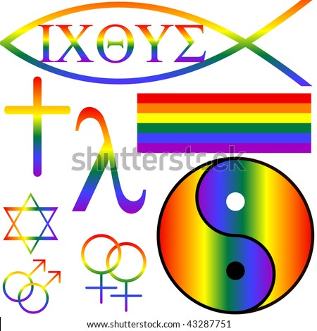 gay christian symbol