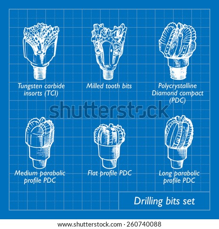 how to use pdc drill bit types