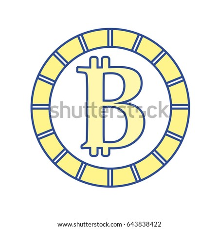 Digital Bitcoin Currency And Electronic Financial