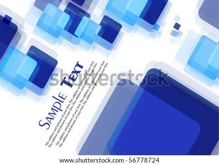 Digital color background, Vector - stock vector