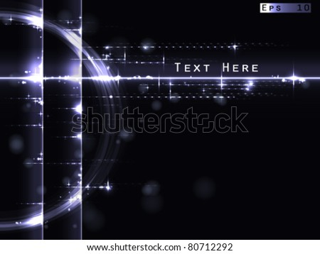 digital frame - stock vector