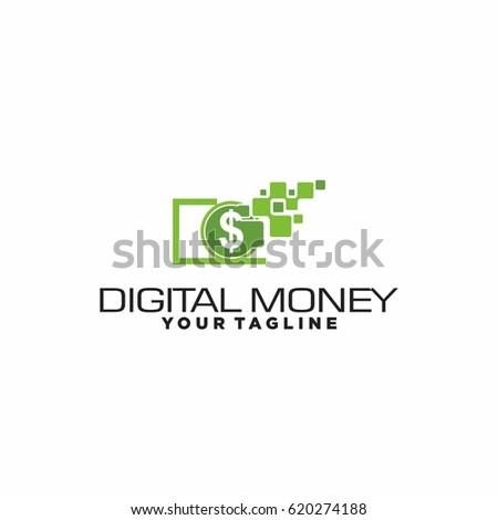 digital money logo