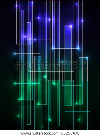 digital matrix neon background - photo #7