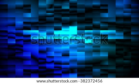 Digitally generated abstract blue matrix background, vector EPS 10 - stock vector