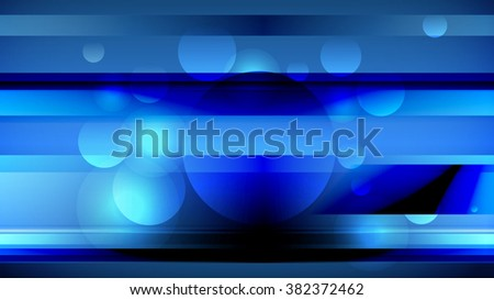 Digitally generated abstract blue tech background, vector EPS 10 - stock vector