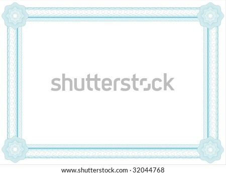 diploma - stock vector