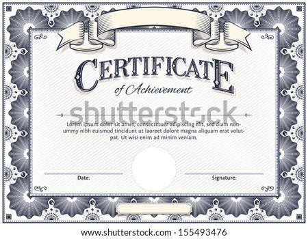 Stock Certificate Images RoyaltyFree Images Vectors – Stock Certificate Template