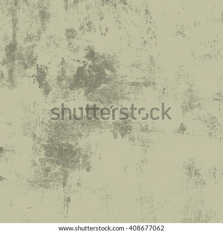 Dirty Scratched Overlay Texture For Your Design. Empty grunge Green color design element. EPS10 vector illustration. - stock vector