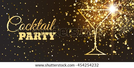 Cocktail Party Invitation Stock Images, Royalty-Free Images ...