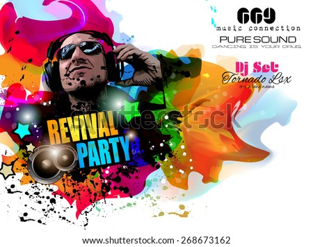 Nightclub Flyer Images RoyaltyFree Images Vectors – Night Club Flyer