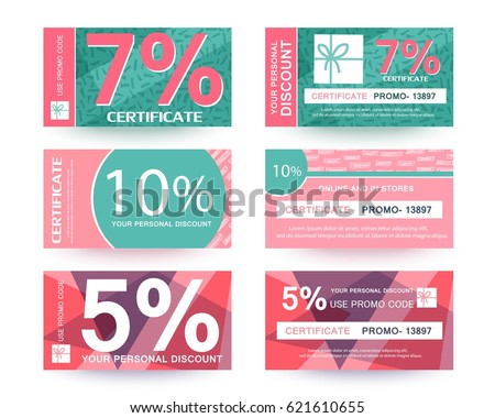 Gift voucher collection. Download thousands of free vectors on Freepik, the finder with more than a million free graphic resources.