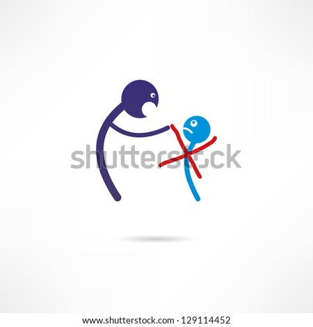 dismissal icon - stock vector