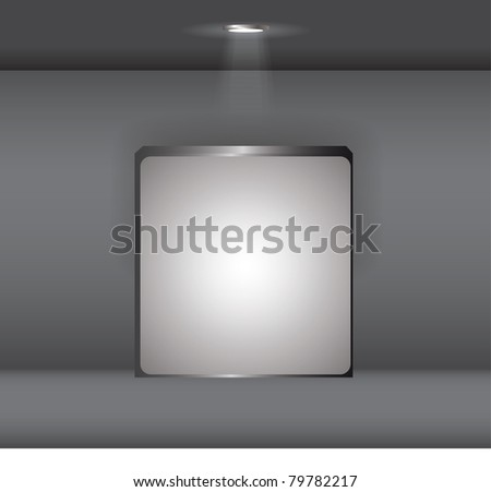 display collection - stock vector