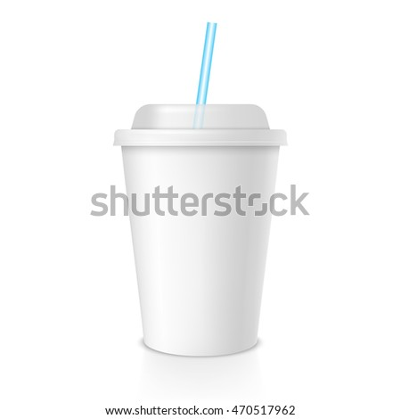 disposable coffee or juice cup