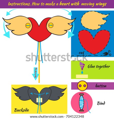 Instructions How To Make Paper Heart Origami With