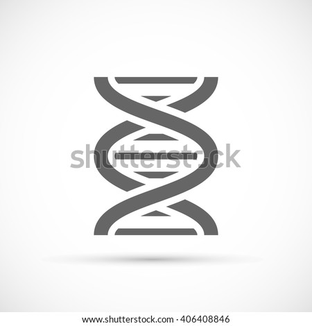DNA Helix Icon - stock vector