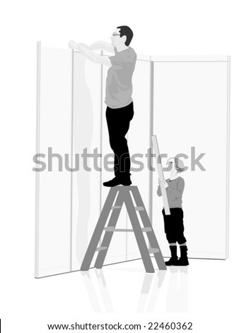 do it yourself, vector illustration - stock vector