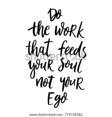 how to work with your ego