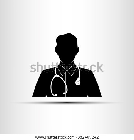 Doctor icon vector illustration eps10. - stock vector