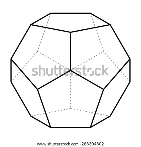 Dodecahedron on lighting design