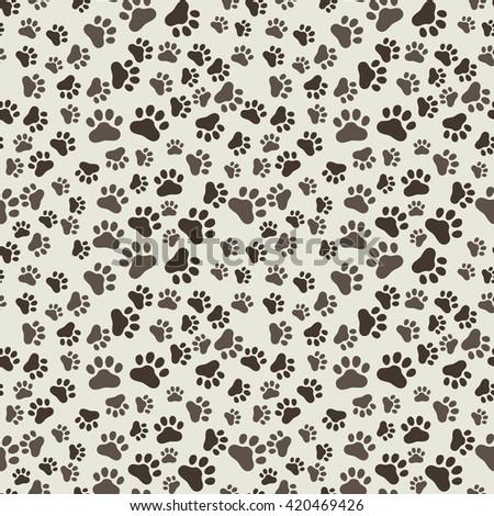 Dog print wallpaper for walls