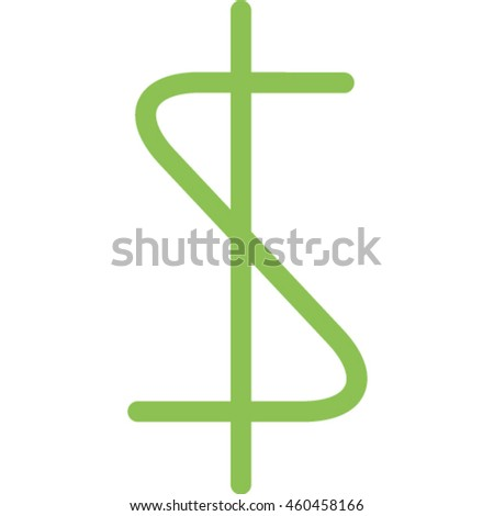 dollar outline icon