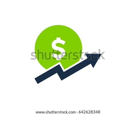 Investment Design Set With Money Saving And Stock Market Profit Flat Icons Isolated Vector Ilration