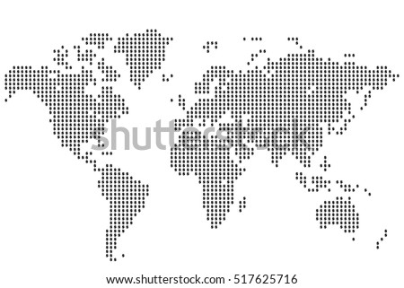 Dollar World Map World Map Made Of Icons Of The Us Dollar