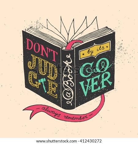 Image result for don't judge a book by its cover