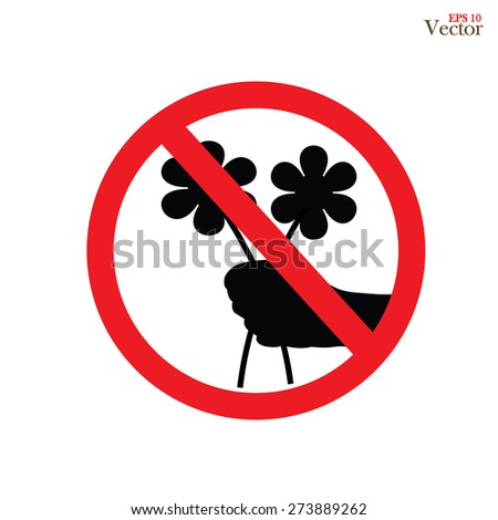 no flower picking stock images royaltyfree images