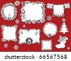 Doodle design elements, Christmas - stock vector