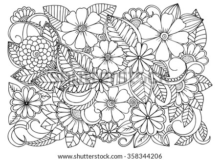 Emila 39 s portfolio on shutterstock Relaxing coloring books for adults