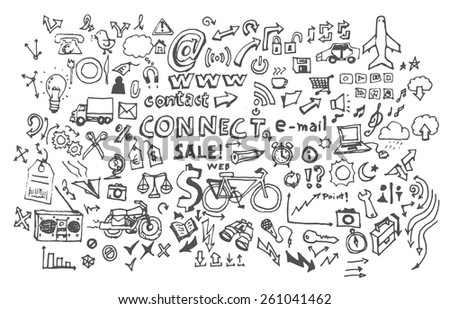 Doodle icon - stock vector