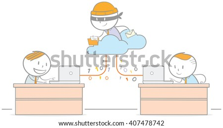 Doodle illustration of - stock vector