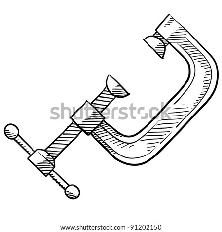 C-clamp Stock Images Royalty-Free Images U0026 Vectors   Shutterstock
