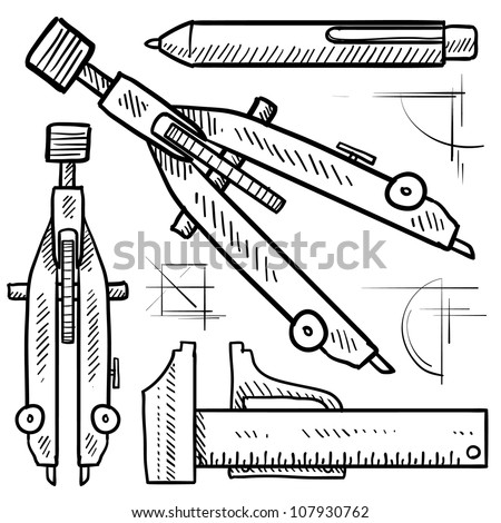 Drafting Tools Stock Images Royalty Free Images Vectors
