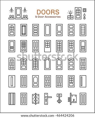door knob sign stock images royalty free images vectors
