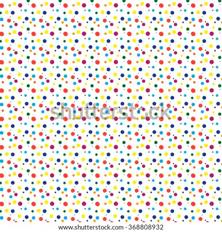 Dot pattern. Color spot pattern. Graphic bright design