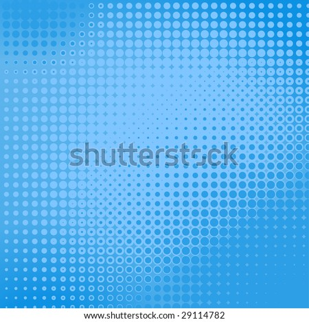 Dotted background - stock vector