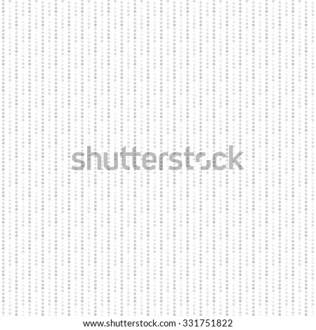 Dotted pattern - seamless vector background. White and gray texture. - stock vector